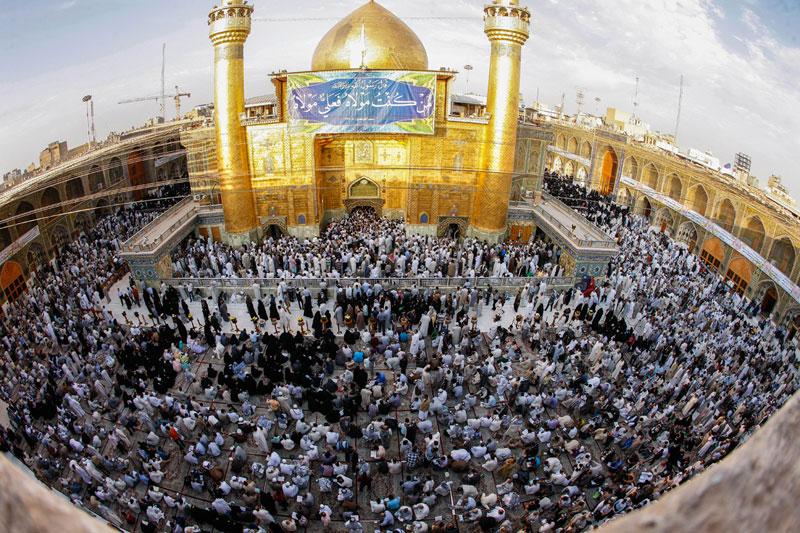 حرم امام علی علیه السلام نجب عید غدیر