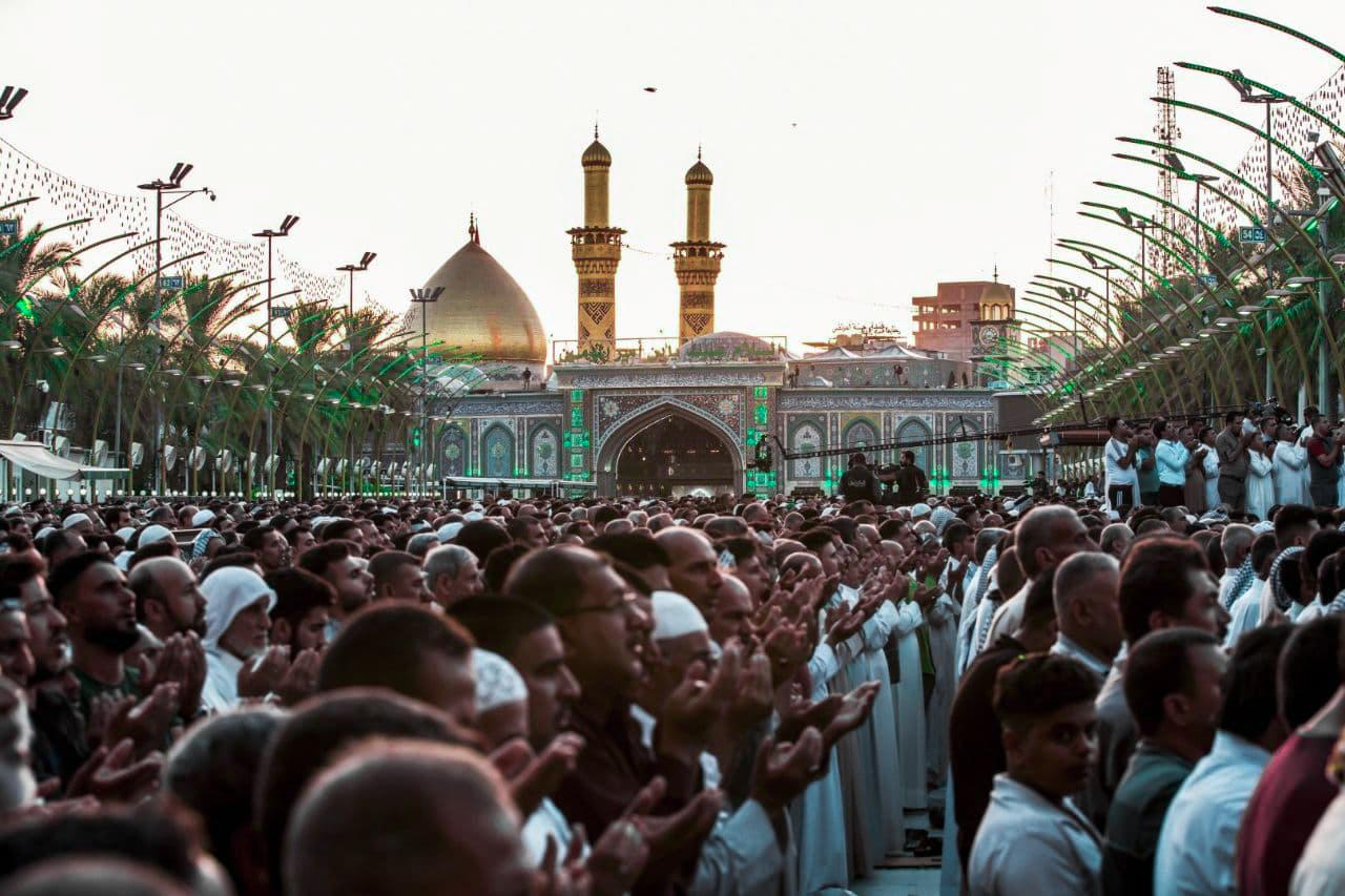 نماز عید قربان بین الحرمین