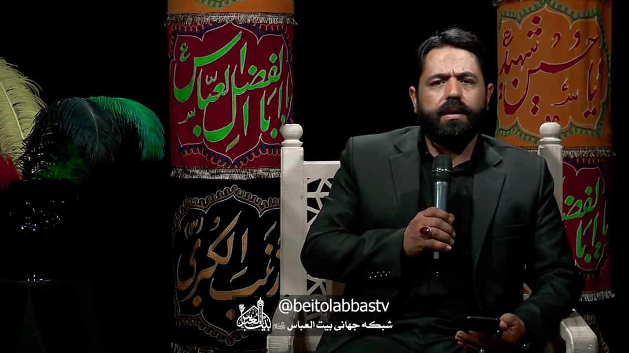 بی تو اسیر است عترت - شعر خوانی و روضه مداح اهل بیت حاج احمد نصراللهی