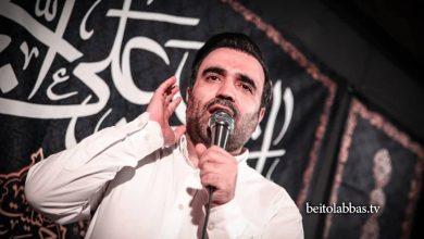 تصویر محسن عرب خالقی سرود بسیار زیبا در مورد امام علی علیه السلام